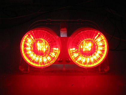Ecliptech CBR250/CBR400 LED Brakelight, Eyes Mode