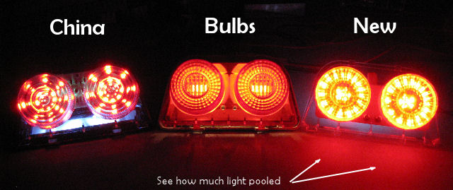 CBR250 CBR400 LED Brakelight Comparison