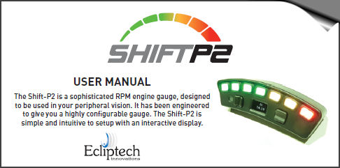 Shift-P2 User Manual